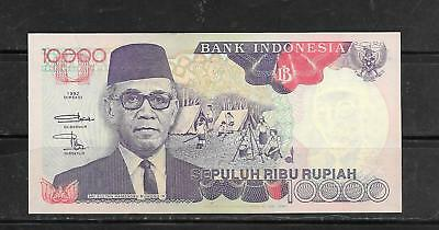 INDONESIA #131g 1998 10000 RUPIAH MINT UNUSED BANKNOTE PAPER MONEY CURRENCY NOTE