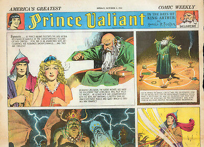 32 Nm 1941 Fulls Of Prince Valiant + 12 Dick Tracy, + Others