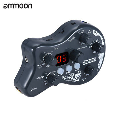 ammoon Virtual Guitar Multi-effects Processor Effect Pedal 15 Effect Types T0A5
