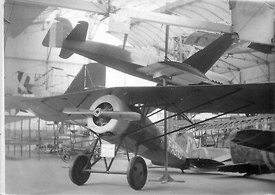 Photo Souple Chalais-Meudon Musee De L'air Dans Hangar A Dirigeables Avion 9798