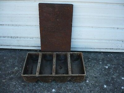Original used procea 4 loaf tin with lid.