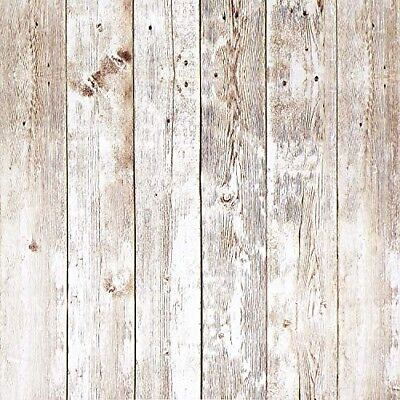 Wood Contact Paper 17.8in x 16.4ft Wood Peel and Stick Wallpaper Self-Adhesive