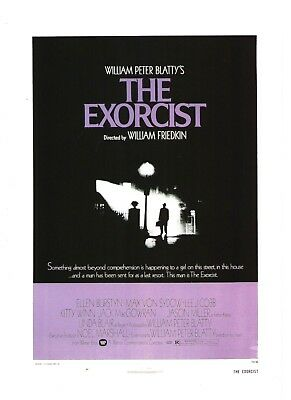 The Exorcist 1973 Horror Movie Classic  Print Advertisement