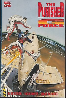 PUNISHER: G FORCE 1992  MARVEL 52pgs  NELSON PAINTED-c  BARON/ LOPEZ...NM-