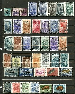TRIESTE--Lot of 44 different stamps