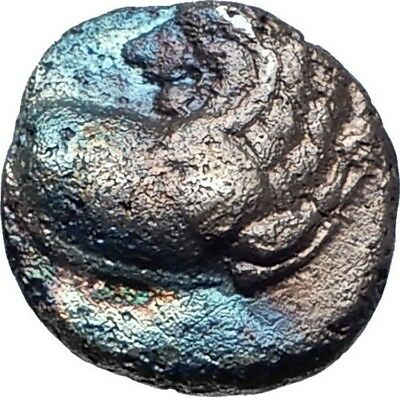 Chersonesos in Thrace 400BC Lion & Incuse Rare Ancient Silver Greek Coin  i73411