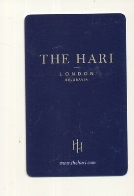"THE HARI--""5 Star""---London,England,,UK--Room key--K-60a"