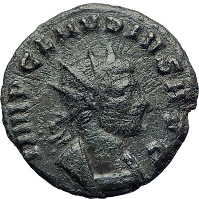 CLAUDIUS II Gothicus 270AD  Authentic Genuine Ancient Roman Coin ANNONA i73413