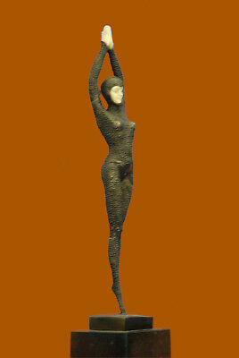 Museum Quality Bronze Sculpture Classic Artwork Female Woman Dancer Statue Deal