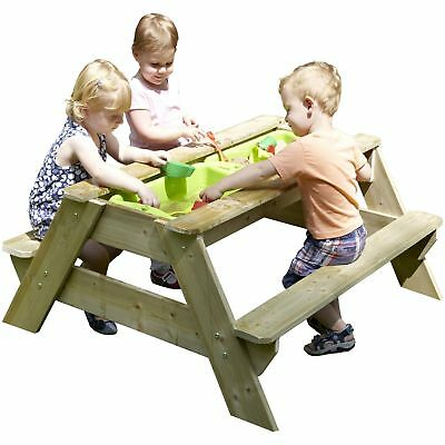 TP Toys Deluxe Picnic Table Sandpit.