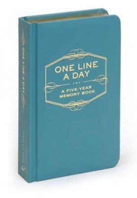 One Line a Day A Five-Year Memory Book by Chronicle Books Staff 9780811870191