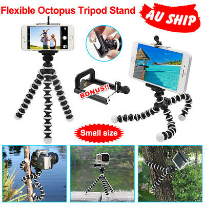 Flexible Octopus Tripod Stand Pod Gorilla For Universal Phone GoPro Camera DSLR