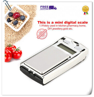 Mini Digital Pocket Scale 100g 0.01 Precision for Kitchen Jewellery g/dwt/ct NP