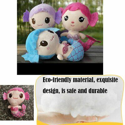 Plush Toys Gift For Baby Kids Girls Children Cute Lovely Mermaid Stuffed Doll AH