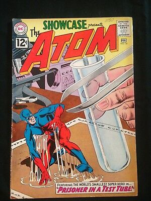 Showcase, #36, Feb. 1962, 3rd Appearance Of The Atom