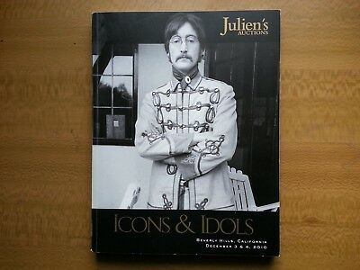 Juliens Auction Book - Monroe..beatles..michael Jackson..madonna..beatles Elvis