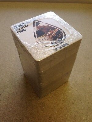 The Family Rain Feel Better (Frank) Pack 100 x promo coasters/beer mats - sealed