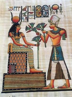 Hand Made Egyptian Papyrus   Size 8 X  12   Inch   20