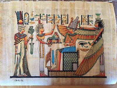 Hand Made Egyptian Papyrus   Size 8 X  12   Inch   602