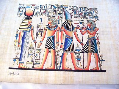 Hand Made Egyptian Papyrus   Size 8 X  12   Inch   4 2