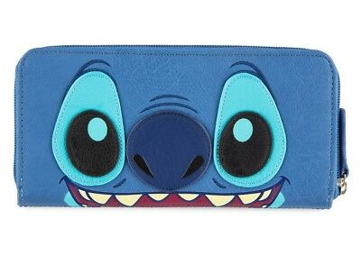 Disney Parks Stitch Zip-Around Wallet by Loungefly New with Tags