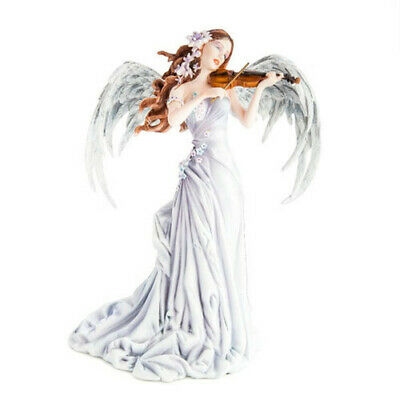 Lullaby Fairy with Violin Home Decoration Highly Detailed Figurine Collection