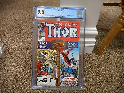 Thor 393 cgc 9.8 Marvel 1988 Daredevil and Quicksand cover MINT WHITE pgs movie