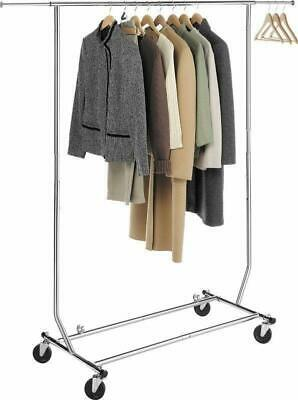 High Quality Commercial Clothing Garment Rolling Collapsible Dry Rack Hanger