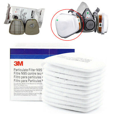 5N11 Dust Gas Mask Respirator Filter Safe Cotton Cartridge Protect For 3M Series