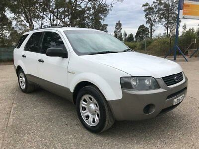 2005 Ford Territory SX TX Automatic A Wagon