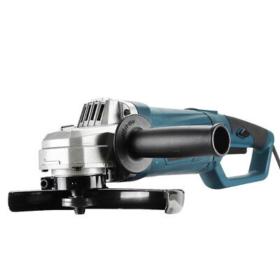 """Heavy Duty 2500W 230mm 9"""" Angle Grinder Soft Start Rotatable Handle w/ Blade"""