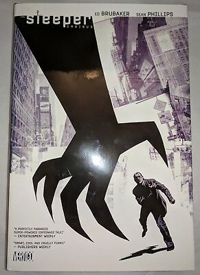Sleeper Omnibus HC Hardcover by Ed Brubaker & Sean Phillips Rare & OOP Near Mint