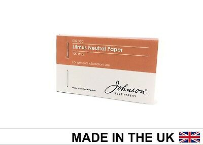 Johnson Test Papers Litmus Neutral Indicator Paper, 4 x 25 per pack
