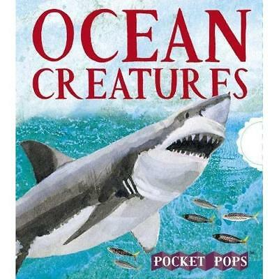 Ocean Creatures: A Three-Dimensional Expanding Pocket G - Hardcover NEW Young, S