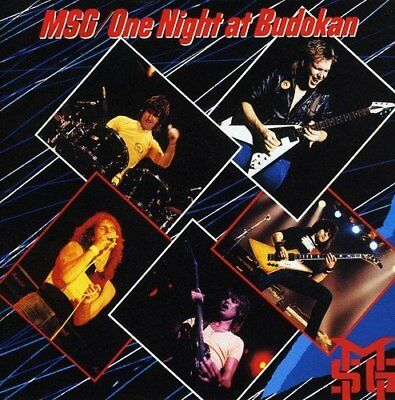 The Michael Schenker Group / M.S.G. - One Night at Budokan NEW SEALED 2CD SET
