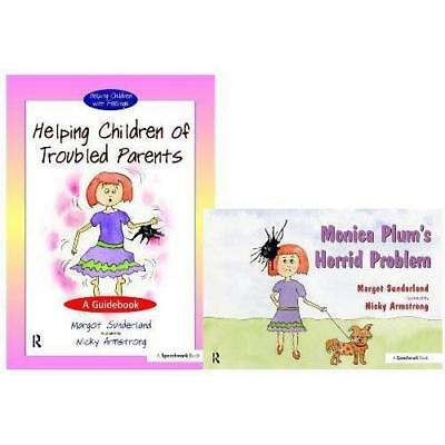 Set: Helping Children of Troubled Parents & Monica Plum - Spiral-bound NEW Margo