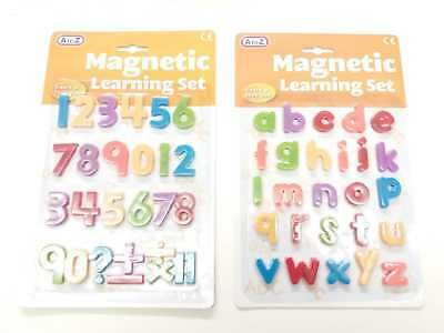 Kids Magnetic Learning Set Toy Letters and Numbers Fridge Strong Magnets A-Z 4+