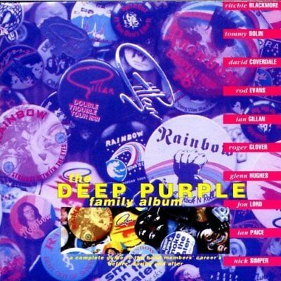 Deep Purple | CD | Family album-A complete guide to the band members' career'...