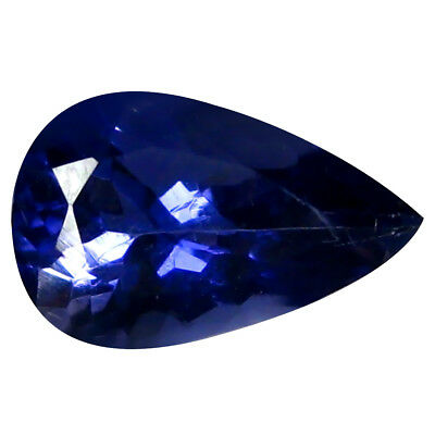 1.34 ct AAA Amazing Pear Shape (10 x 6 mm) Iolite Natural Loose Gemstone