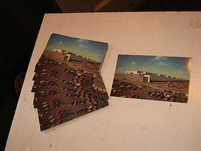 (16) Vintage 1950`s? General Electric Schenectady NY Postcards Turbine Plant NOS