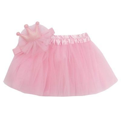 Babytown Baby Girls Tutu & Headband Set White and Pink 0-6m to 18-24 Months
