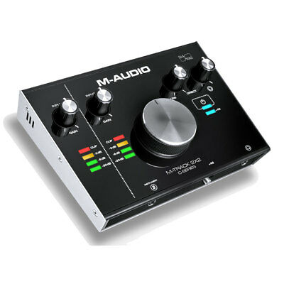 M-Audio M-Track 2 In And 2 Out C-Series Studio Recording USB Audio Interface