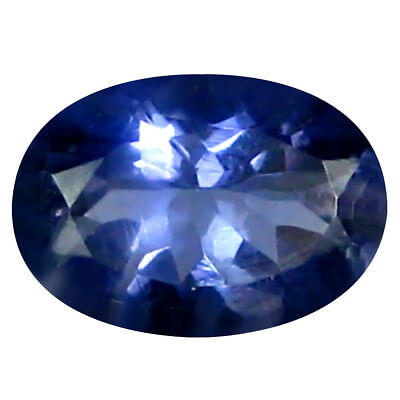 0.60 Ct AAA Merveilleux Forme Ovale (7 X 5 mm) Iolite Naturel Libre
