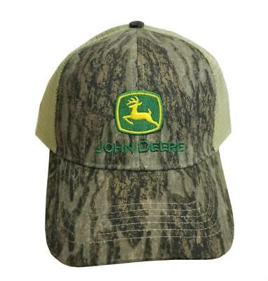 MEN S JOHN DEERE Hat   Cap (Brown Tan Mesh) - LP68010 -  17.74 ... d9671b416b73