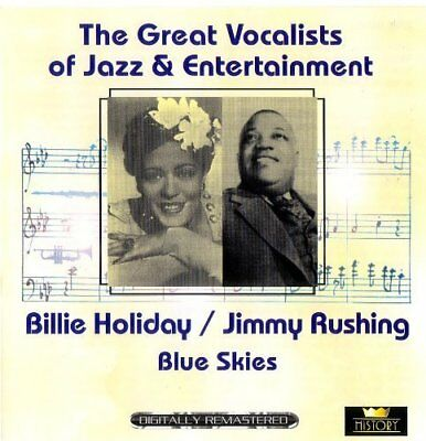 Billie Holiday | 2 CD | Great vocalists of Jazz & Entertainment (History, & J...