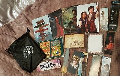 Fairyloot Book Subscription Bookmarks Prints Pouch note pad