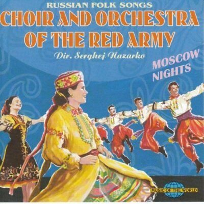 Choir & Orchestra of the Red Army/Nazarko | CD | Moscow nights (1994)