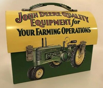 John Deere Small Quality Equipment For Your Farming Operations Tin Lunch Box A6
