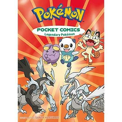 Pokemon Pocket Comics: Legendary Pokemon TP - Paperback NEW Santa Harukaze  2015
