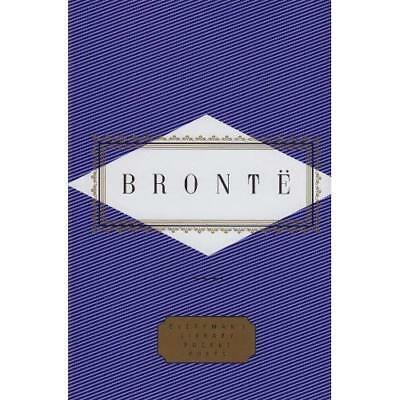 Emily Bronte: Poems (Everyman's Library Pocket Poets) - Hardcover NEW Bronte, Em